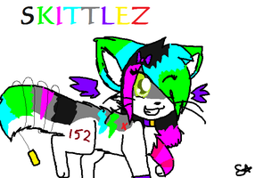 COMMISION Skittlez by Spywolfie3000