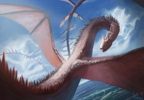 Sea Dragon by Raedrob