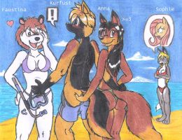 Girls can be Kinky too! _ finally completed X3 by DingoPatagonico