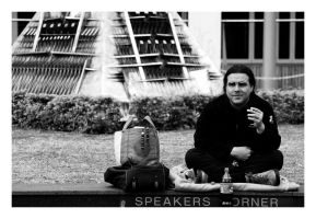 Brisbane - Speakers Corner by Zenhead