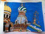 Russian church painting by AnaturalBeauty