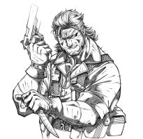 Snake, Big Boss - Metal Gear 3 by leandrotitiu