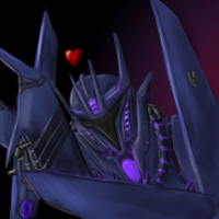 Soundwave And Laserbeak Icon by Cryophase