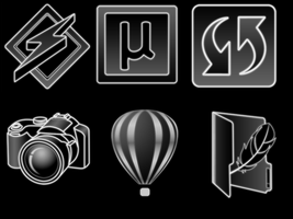simple icons PNG 256x256 by PkufeIgiglf