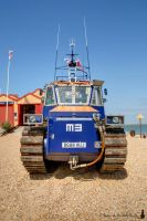 Lifeboat tractor by Salemik