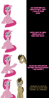 Pinkie and Doctor Whooves say Goodnight by Undead-Niklos