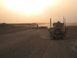 Sunset in Iraq by ffrick73