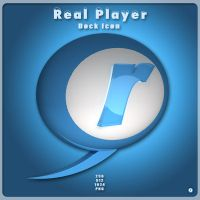 Real Player Dock Icon by AlperEsin