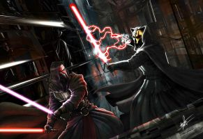 Darth Nihilus vs Darth Revan 1 by rumper1