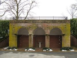 Arched Building by bean-stock