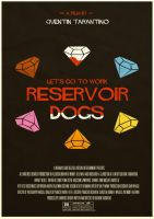 Reservoir Dogs Poster by W0op-W0op