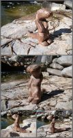 Woodwork River Otter by xofox