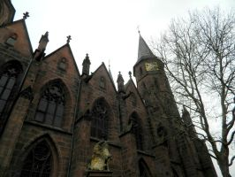 Gothic Church by cammiesphotography