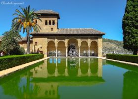 Beyond Green, Below Blue - Alhambra, Granada by Cloudwhisperer67