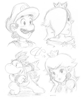 more character sketches by Rainmaker113