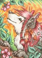 ACEO Trade: Summer Scent by Agaave