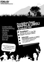 MAPALA UMSU Flyer by andaiy
