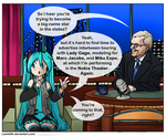 Miku on The Late Show 2 by lawlietlk
