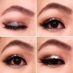 Glitter makeup by Ciyradyl