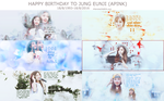 [SHARE] Happy birthday to Jung Eunji Apink by KeroLee2k