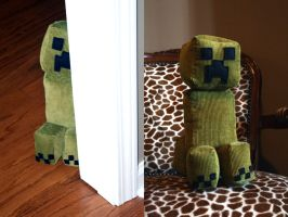 Creeper Plushie by SomeCallMeSteph