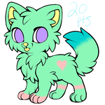 Pastel Kitten OPEN by Tori-Eclipse-Adopts