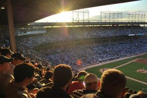 Wrigley Field by katherine4expression