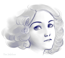 Semi-realism: Memory Sketch by MadameNyx
