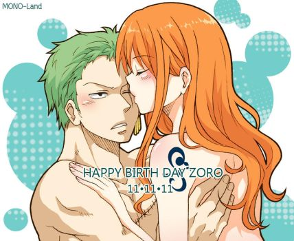 OP - HBD to Zoro 2011 by MONO-Land