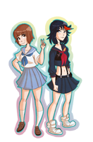 Kill la Kill-BFFs by suzzannnn