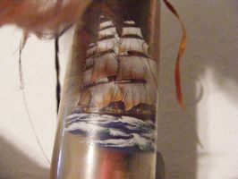 Ship on a Bottle by grlgeorge