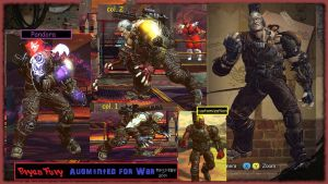 Bryan Fury Augmented for WAR Download by MaesterLee