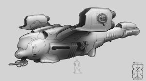 Spearpoint: Roman VTOL by Legato895