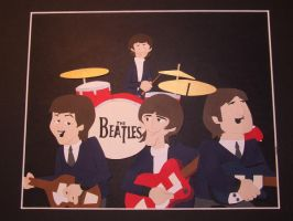 The Fab Four - The Beatles by ShellzSnipitz