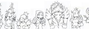 A Lineup of Goons by LisaCunha
