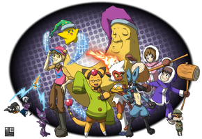 Just Another Tribute to BehindtG/TamarinFrog by LE-the-Creator