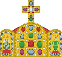 Imperial Crown of Holy Roman Empire by Fenn-O-maniC