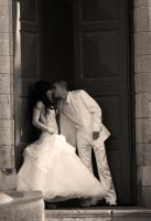 Wedding couple by mayoran
