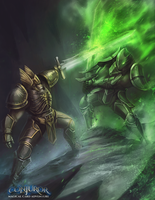 Lord Victus Vs Light Bringer by BABAGANOOSH99