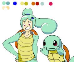 Squirtle I Choose YOU by Eva49