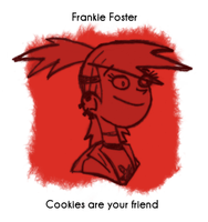 Daily Sketch 32: Frankie Foster by kingofsnake