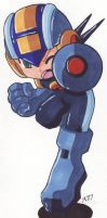 Rockman Rockman.EXE by SLiDER-chan