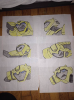 transformers animated bumblebee by hazethecat