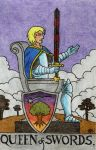 Queen of Swords by Fernoll