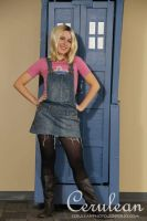 Doctor Who Photoshoot: Rose Tyler by StrangeStuffStudios