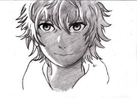 Doodle of Yukine from Noragami by P---Chan