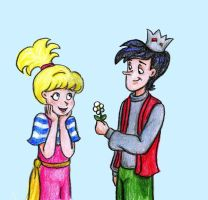 Betty and Jughead by DKCissner
