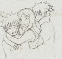 Naruto - parents by 2wolfan