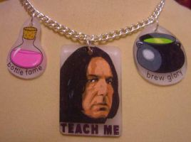 Teach Me _FunDangl Necklace by Facenna