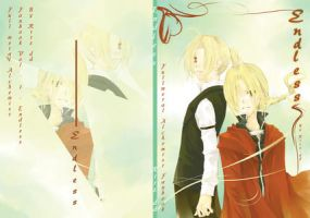 FMA fanbook's cover : Endless by 10721